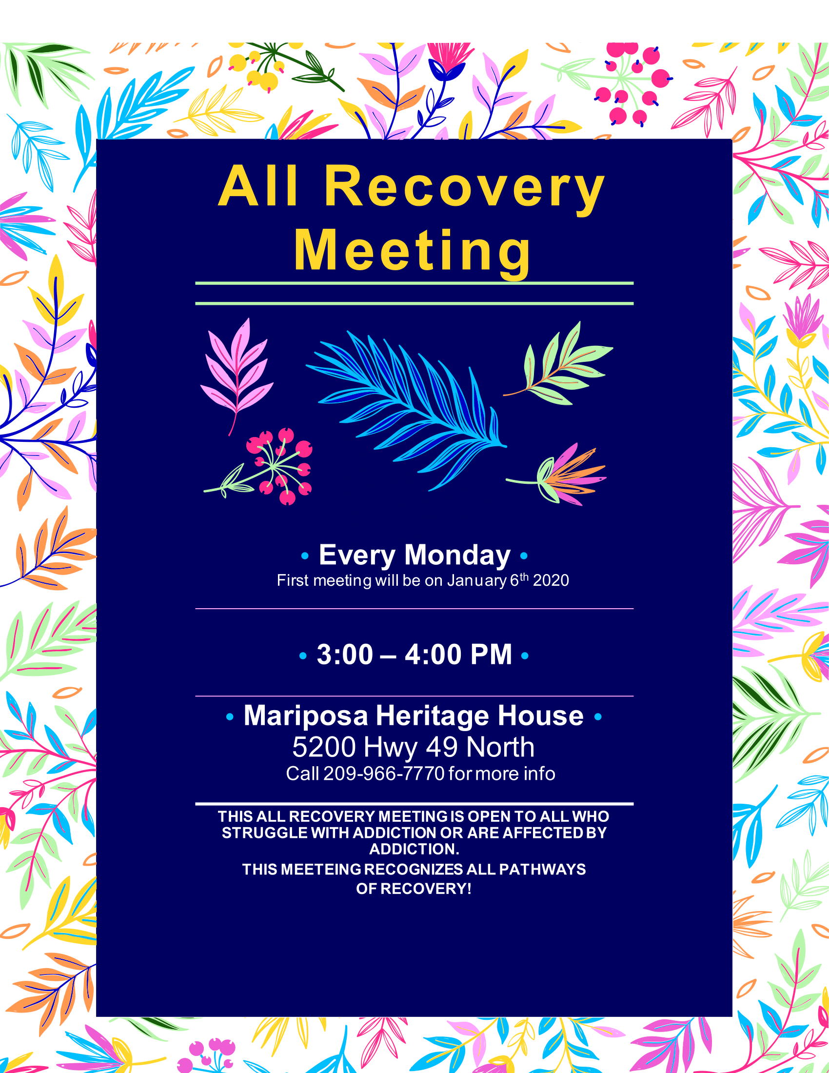 All Recovery Meeting